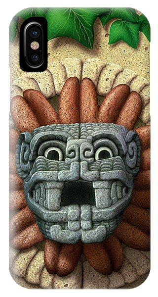 Quetzalcoatl IPhone Case