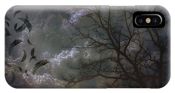 Quiet After The Storm IPhone Case