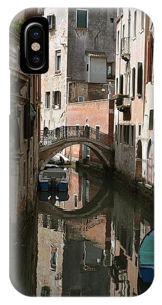 Quiet Moment In Venice IPhone Case