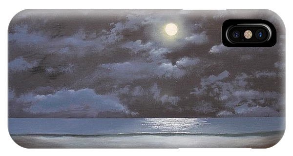 Quiet Moon IPhone Case