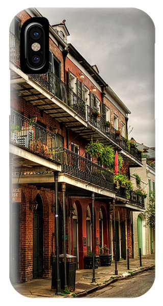 Quiet Morning In The French Quarter IPhone Case