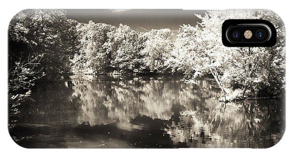 Quiet On The Pond Phone Case by John Rizzuto
