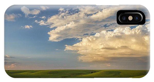 Quiet On The Prairie IPhone Case