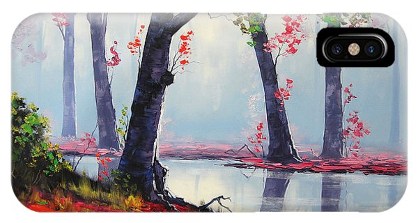 Fall Foliage iPhone Case - Quiet Stream by Graham Gercken
