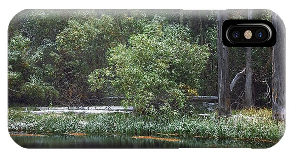 Quiet Time Along Rush Creek IPhone Case