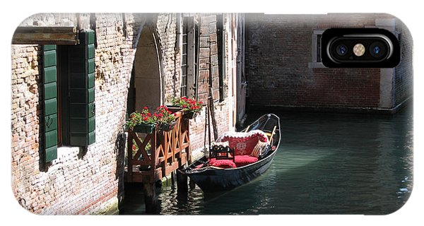 Quiet Venice Parking Place IPhone Case