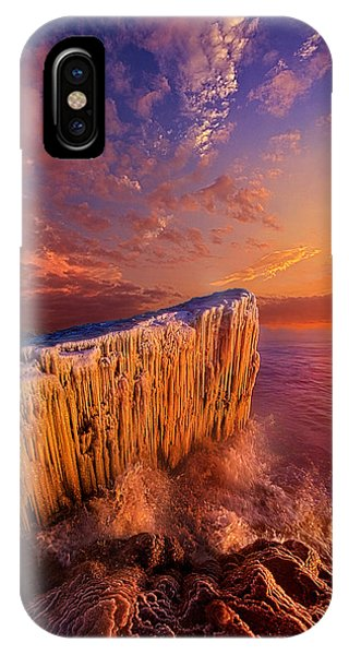 Quietly Winter Reigns IPhone Case