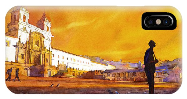Quito Sunrise IPhone Case