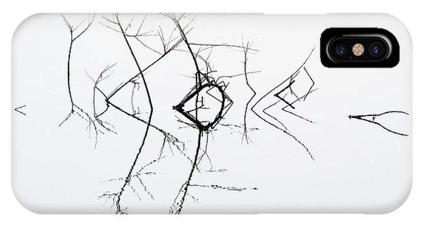 Twig iPhone Case - Quivering by Bernie Delaney
