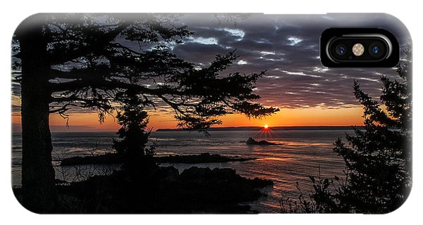 Quoddy Sunrise IPhone Case