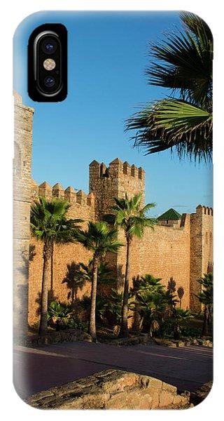 Rabat Morocco Beautiful Kasbah Udaya IPhone Case