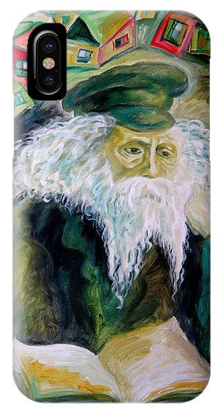 Rabbi Yosef Rosen The Rogatchover Gaon IPhone Case