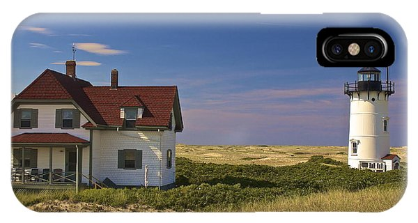 Race Point Lighthouse In Summer IPhone Case