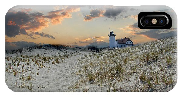 Lighthouse Wall Decor iPhone Case - Race Point Lighthouse by Skip Willits