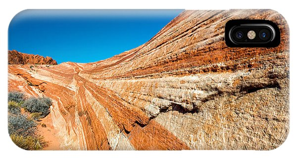 Valley Of Fire iPhone Case - Racetrack by Joseph Smith