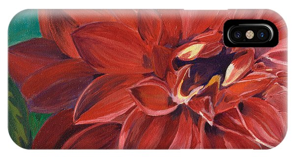 Rachael's Dahlia IPhone Case
