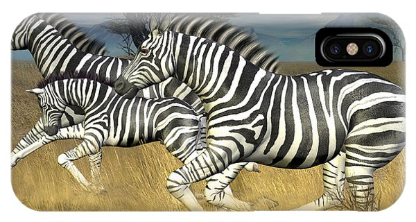 Racing Stripes IPhone Case