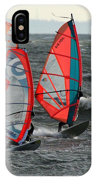 Racing With Wind IPhone Case