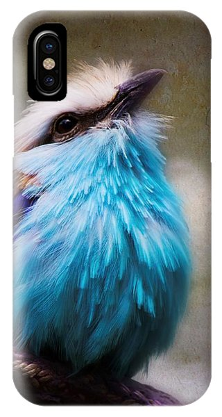 Racket-tailed Roller IPhone Case