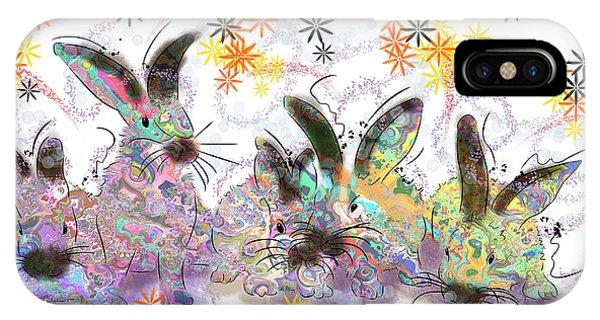 Rad Rabbits IPhone Case