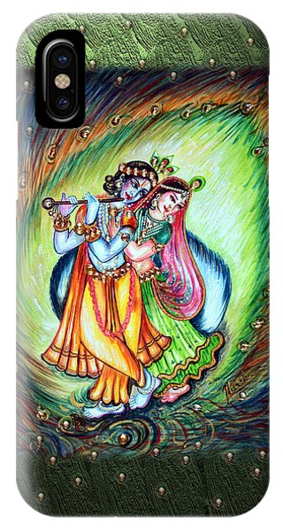 Radha Krishna IPhone Case