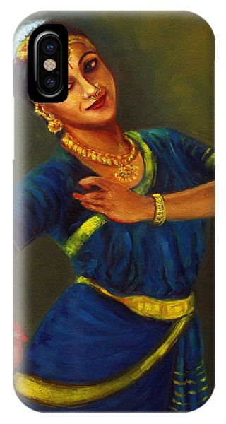 Radha Playing Krishna IPhone Case