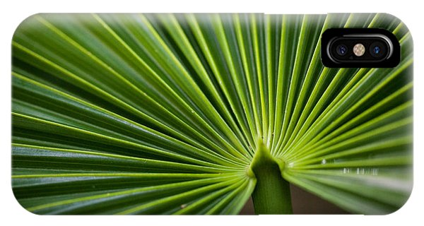 Radial Greens IPhone Case