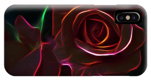 Radiant Rose  IPhone Case