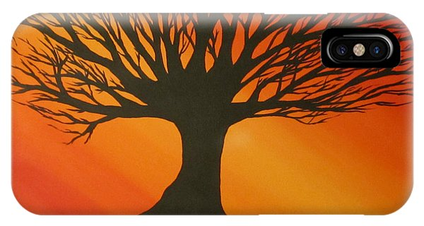 Radiant Tree IPhone Case