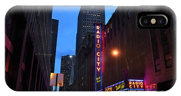 Rockettes iPhone Case - Radio City Music Hall And St Patricks Cathedral by RicardMN Photography