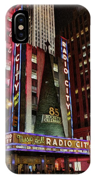Rockettes iPhone Case - Radio City Music Hall Anniversary  by Lee Dos Santos