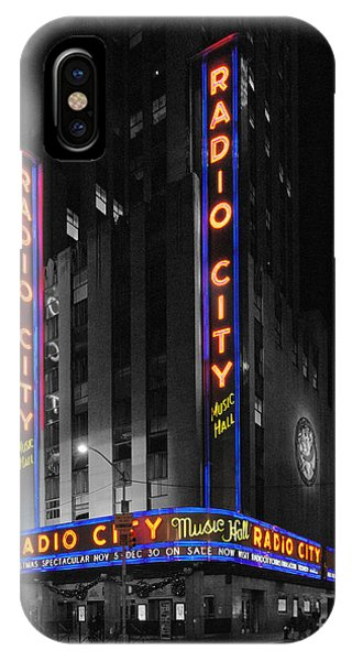 Rockettes iPhone Case - Radio City Music Hall At Night by Matt Wade