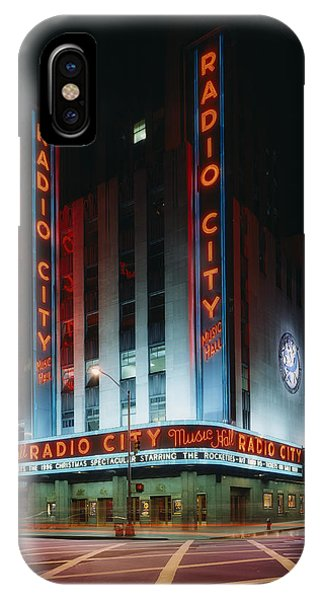 Rockettes iPhone Case - Radio City Music Hall In New York City by Mountain Dreams
