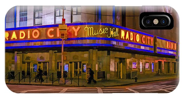 Rockettes iPhone Case - Radio City Music Hall by Jerry Gammon