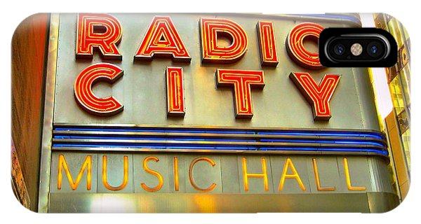 Rockettes iPhone Case - Radio City Music Hall by Judy Palkimas