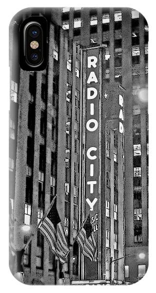 Radio City Music Hall IPhone Case