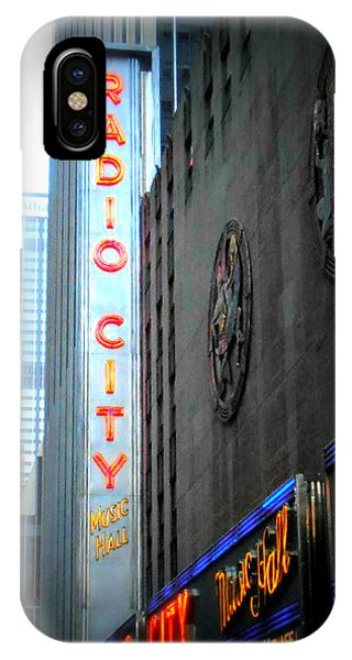 Rockettes iPhone Case - Radio City Music Hall by Kimberly Perry