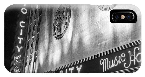 Radio City Music Hall Marquee IPhone Case