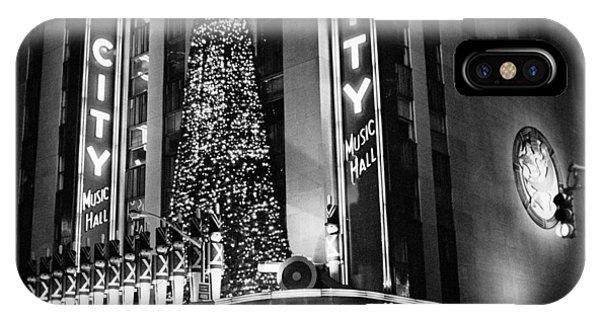 Radio City New York IPhone Case