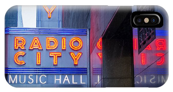 Rockettes iPhone Case - Radio City Music Hall by Shadows of Palmyra Photography