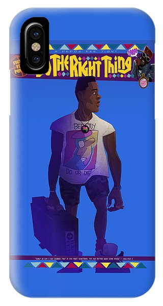 Radio Raheem IPhone Case