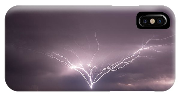 Radio Tower Strike IPhone Case