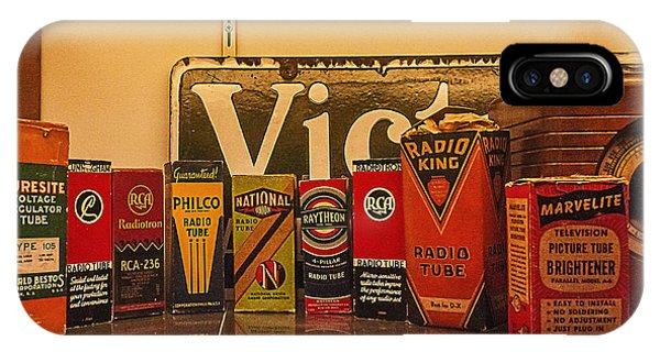 Radio Tubes IPhone Case