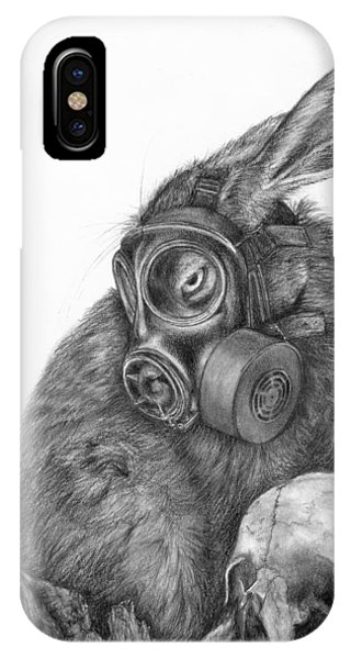 Radioactive Black And White IPhone Case