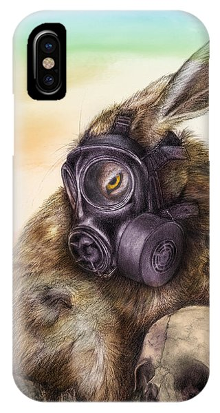 Radioactive - Color IPhone Case