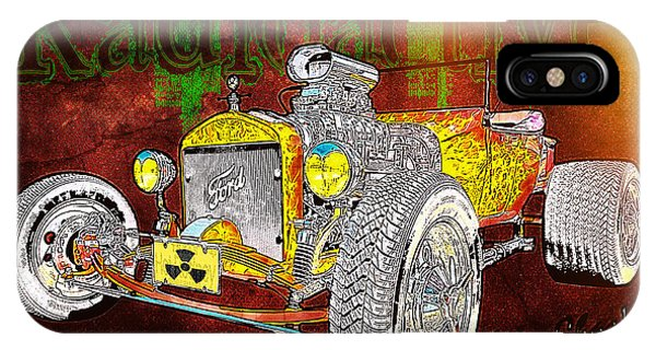 Radioactive Rod IPhone Case