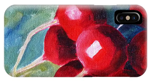 Cultivar iPhone Case - Radish by Nancy Merkle