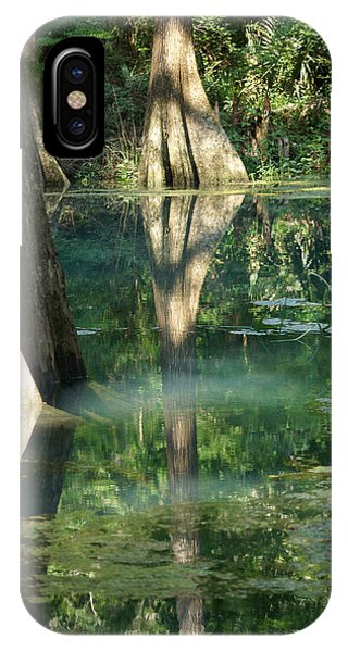 Radium Springs Creek In The Summertime IPhone Case