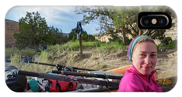 Knit Hat iPhone Case - Rafting The Yampa by Taylor Reilly