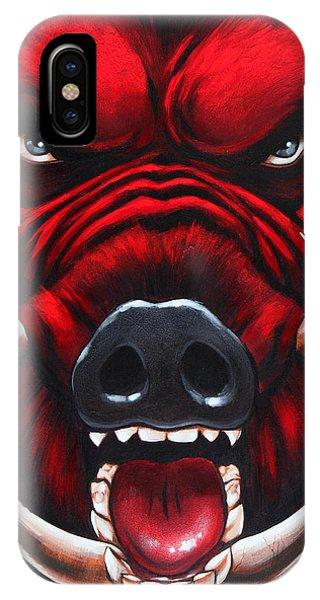 Raging Hog IPhone Case